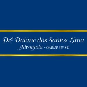 ADVOCACIA DAIANE DOS SANTOS LIMA
